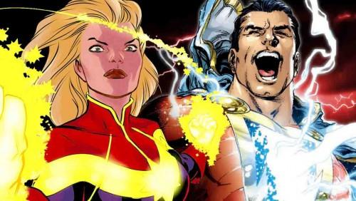 DC超人的商标争议-沙赞 vs 惊奇队长