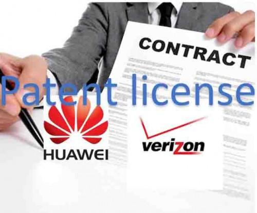 Huaweiは特許ライセンスを追求しています