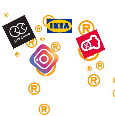 産業財産権のさまざまな商標登録タイプ