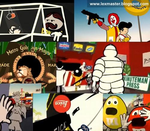 动画片-商标的世界
