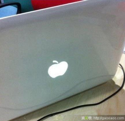 蘋果mac book 假商標