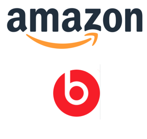 Amazon & Beats by Dre Logo