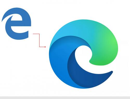 Microsoft Edge 新商标